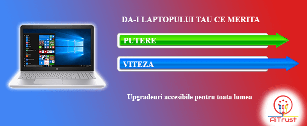 Baner upgrade laptop