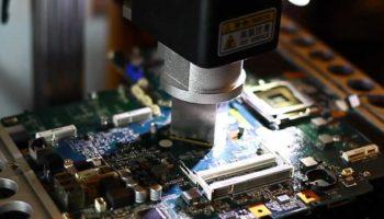 Reballing placa de baza laptop